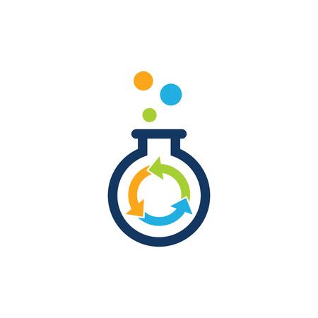 Recycle Lab Logo Icon Design