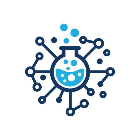 Tech Lab Logo Icon Design