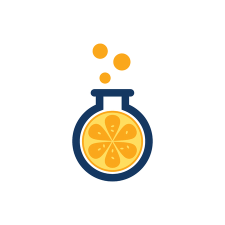 Juicy Lab Logo Icon Design Banque d'images - 101453024