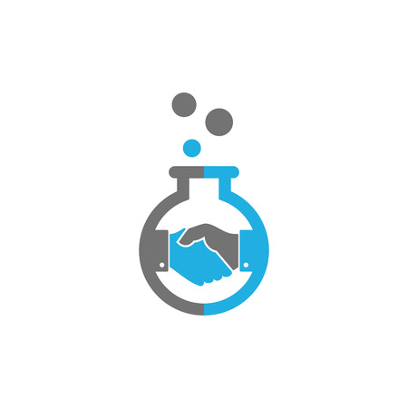 Deal Lab Logo Icon Design Illustration