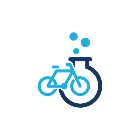 Bike Lab Logo Icon Design