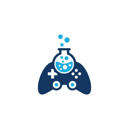 Game Lab Logo Icon Design Stockfoto - 101449785