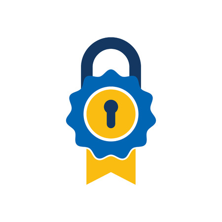 Best Lock Logo Icon Design