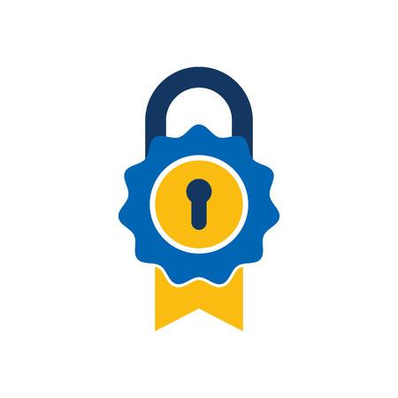 Best Lock Logo Icon Design