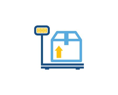 Weigh Logistic Logo Icon Design