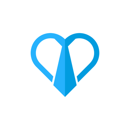 Job Love Logo Icon Design 일러스트
