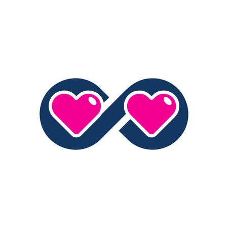 Infinity Love Logo Icon Design