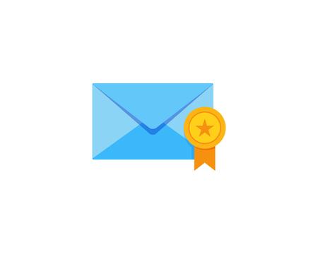 Best Mail Icon Logo Design Element