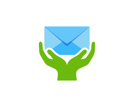 Care Mail Icon Logo Design Element