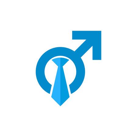 Job Male Man Logo Icon Design
