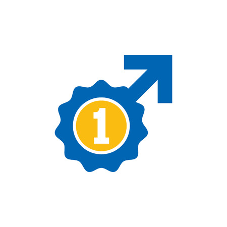 Best Male Man Logo Icon Design Stock Vector - 101700449