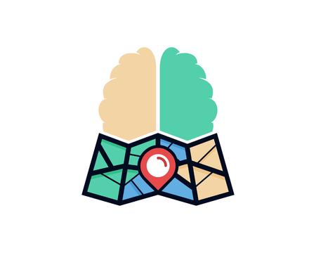 Mind Map Logo Icon Design