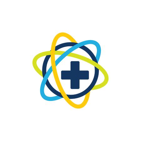 Science Medical Logo Icon Design