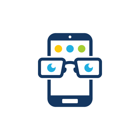 Geek Mobile Phone Logo Icon Design