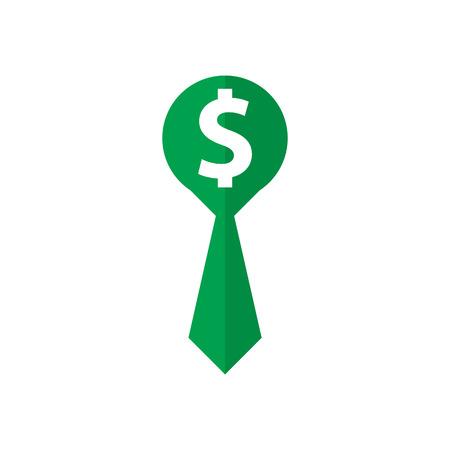 Job Money Logo Icon Design Stock Illustratie