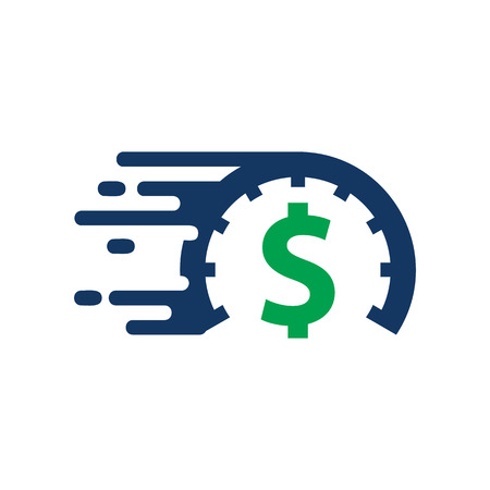 Speed Money Logo Icon Design
