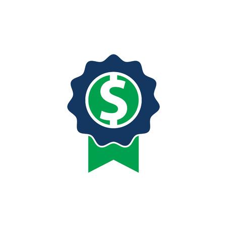 Best Money Logo Icon Design Illustration