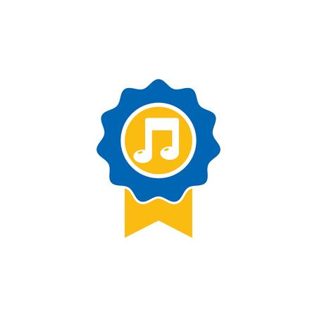 Best Music Logo Icon Design Stock Vector - 101703355