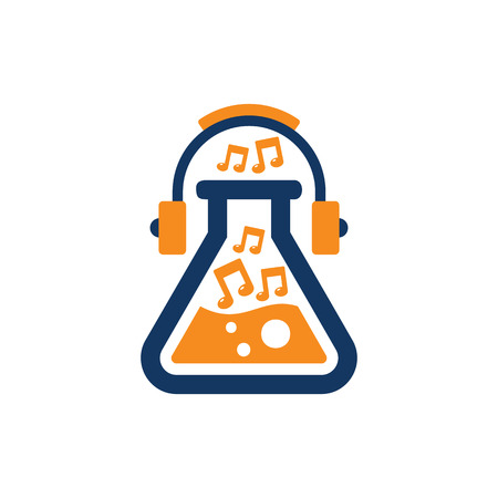 Lab Music Logo Icon Design