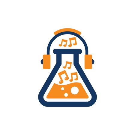 Lab Music Logo Icon Design