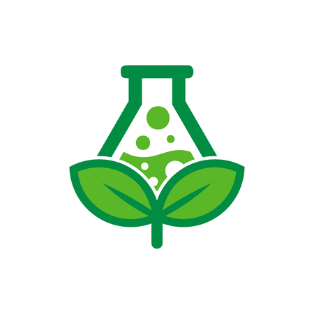 Lab Nature Logo Icon Design