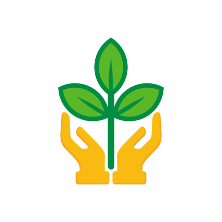 Care Nature Logo Icon Design