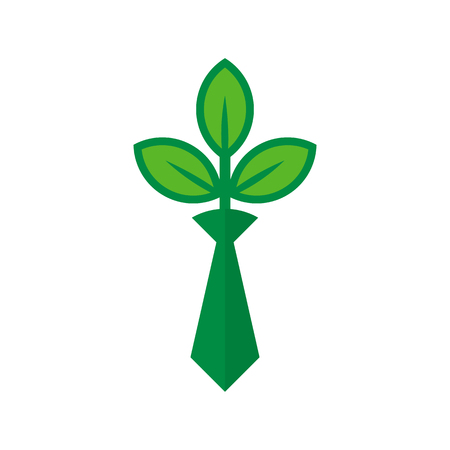 Job Nature Logo Icon Design