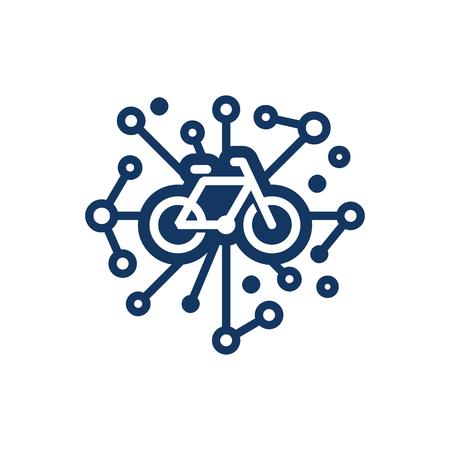 Bike Network Logo Icon Design