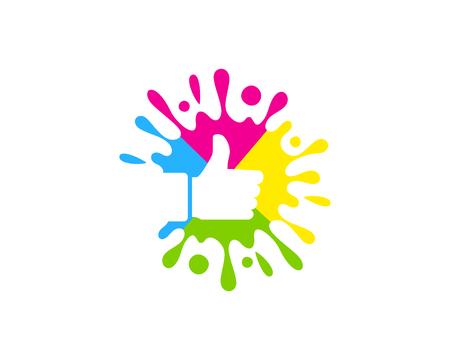 Top Paint Logo Icon Design
