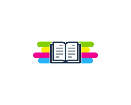 Page Paint Logo Icon Design Illustration