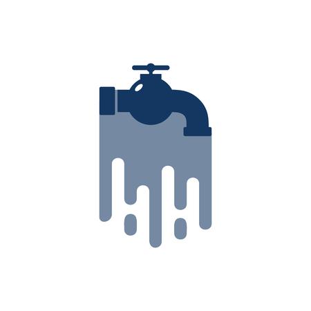 Plumbing Paint Logo Icon Design