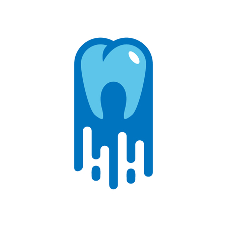 Dental Paint Logo Icon Design