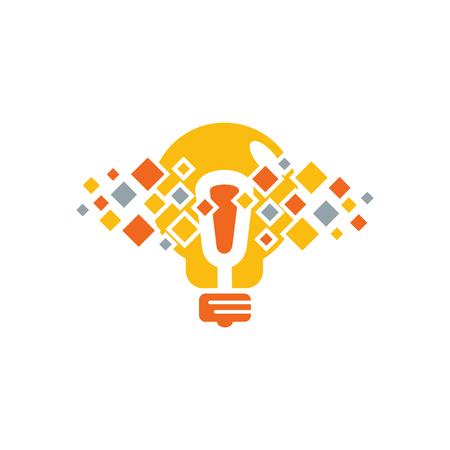 Creative Pixel Logo Icon Design
