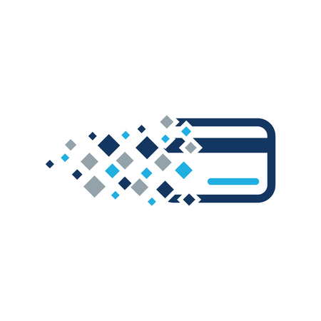 Payment Pixel Logo Icon Design