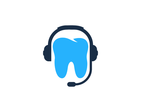 Tooth Podcast Logo Icon Design