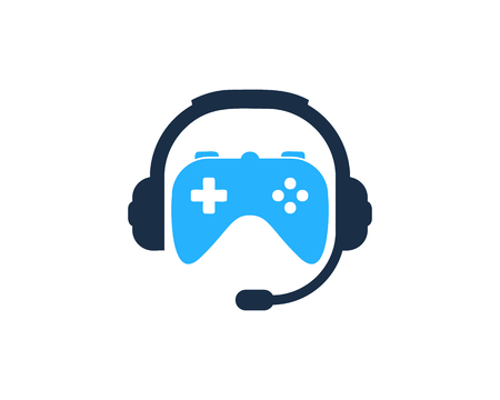 Projekt ikony Logo podcastu konsoli Logo