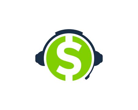 Finance Podcast Logo Icon Design