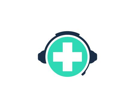 Clinic Podcast Logo Icon Design Çizim