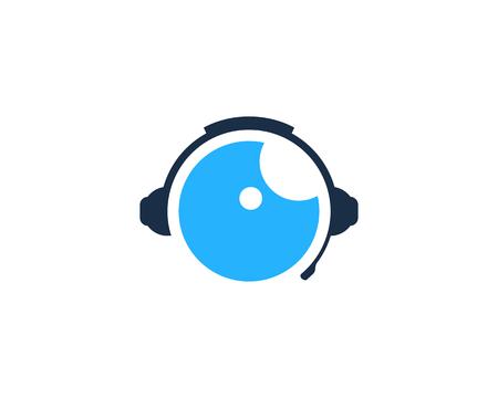 Vision Podcast Logo Icon Design