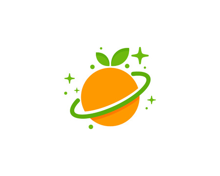 Fruit Planet Logo Icon Design