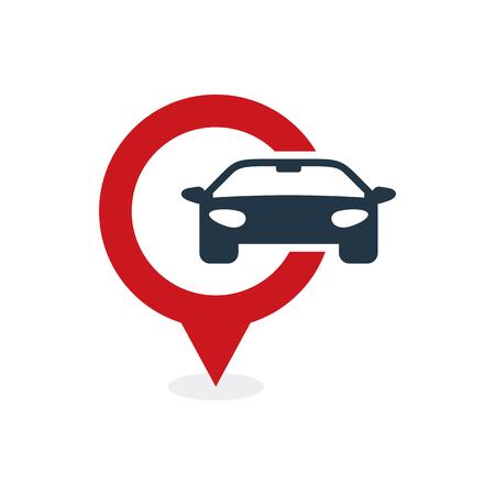Automotive Point Logo Icon Design