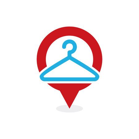 Laundry Point Logo Icon Design