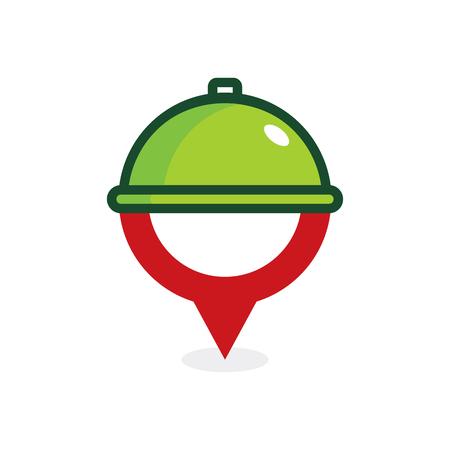 Food Point Logo Icon Design