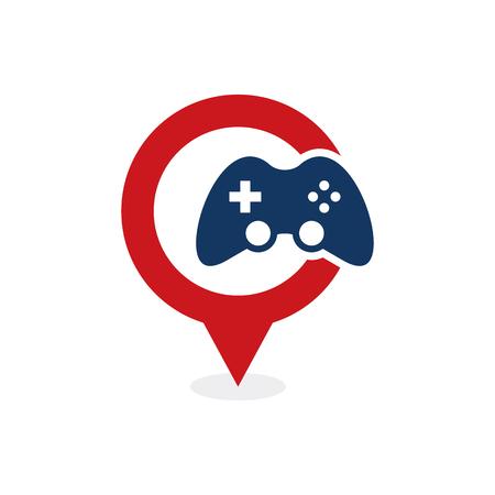 Game Point Logo Icon Design 向量圖像
