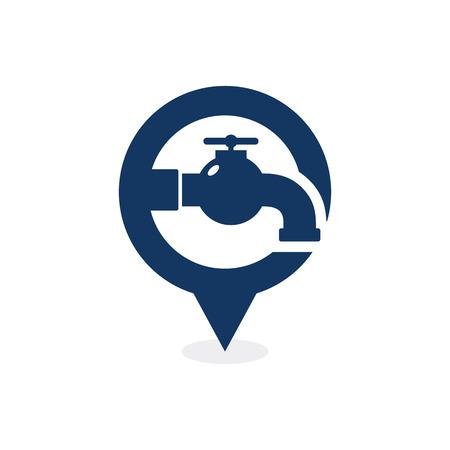 Plumbing Point Logo Icon Design