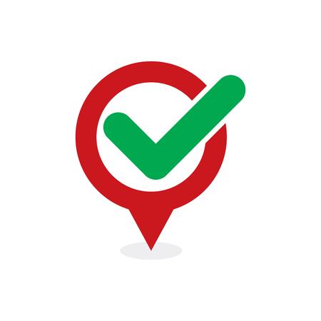Check Point Logo Icon Design