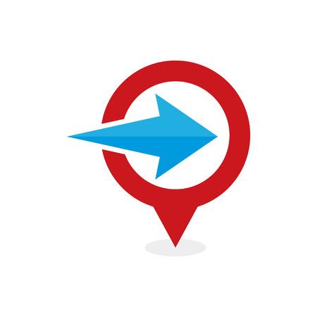 Arrow Point Logo Icon Design