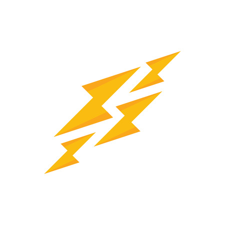 Power Energy Logo Icon Design Иллюстрация
