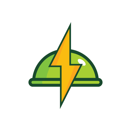 Food Power Energy Logo Icon Design