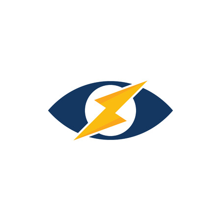 Vision Power Energy Logo Icon Design